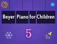 Etude NO.5 of the EOP Self-study Crash Course Midi Version season 2: Beyer Piano for Children