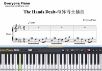 The Hands Dealt-Doctor Strange OST-Free Piano Sheet Music