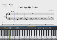 Can't Stop The Feeling-The Piano Guys-Sheet Music