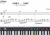 And I ... You-Giovanni Marradi-Piano Sheet Music