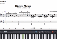 History Maker-Yuri on Ice OP Sheet Music
