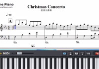 Christmas Concerto-Richard Clayderman Sheet Music