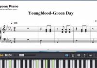 Youngblood-Green Day Sheet Music