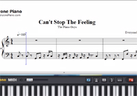 Can't Stop The Feeling-The Piano Guys Sheet Music