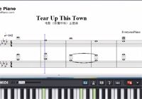 Tear Up This Town-A Monster Calls theme song Sheet Music