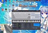Letter Song Midi Keyboard Piano Show