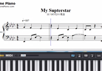 My Superstar-Ice Age 5: Collision Course ED-Free Piano Sheet Music