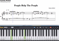 People Help the People-Birdy-Free Piano Sheet Music
