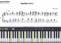 Another Love-Tom Odell-Free Piano Sheet Music