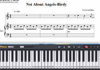 Not About Angels-Birdy-Free Piano Sheet Music
