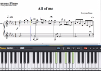 All of Me-Jon Schmidt-Free Piano Sheet Music