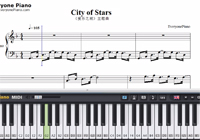 City of Stars-La La Land theme-Free Piano Sheet Music