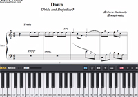 Dawn-Pride & Prejudice OST-Free Piano Sheet Music