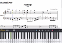 Feelings-Richard Clayderman-Free Piano Sheet Music