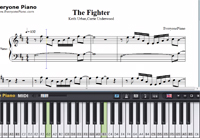 The Fighter-Keith Urban,Carrie Underwood-Free Piano Sheet Music