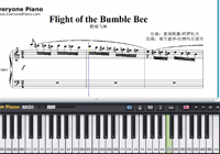 Flight of the Bumble Bee-Free Piano Sheet Music