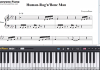 Human-Rag'n'Bone Man-Free Piano Sheet Music