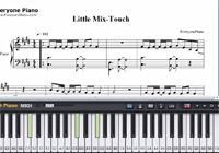 Touch-Little Mix楽譜ピアノ学習