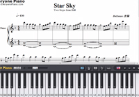 Star Sky-Two Steps from Hell-Free Piano Sheet Music