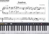 Symphony-Clean Bandit,Zara Larsson楽譜ピアノ学習