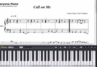 Call on Me-Starley-Free Piano Sheet Music