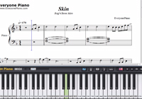 Skin-Rag'n'Bone Man-Free Piano Sheet Music