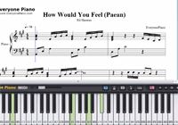 How Would You Feel (Paean)-Ed Sheeran-Free Piano Sheet Music