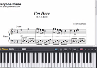 I'm here-Ef: A Tale of Memories ED-Free Piano Sheet Music