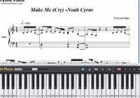 Make Me (Cry)-Noah Cyrus-Free Piano Sheet Music