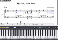 My Soul Your Beats-Angel Beats OP-Free Piano Sheet Music