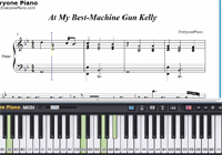 At My Best-Machine Gun Kelly-Free Piano Sheet Music