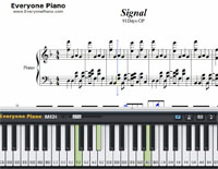 Signal-91Days-Free Piano Sheet Music