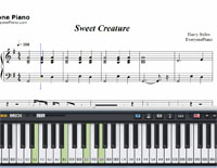 Sweet Creature-Harry Styles-Free Piano Sheet Music