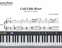 Cold Little Heart-Big Little Lies OP-Free Piano Sheet Music