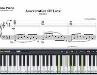 Asseveration Of Love-Richard Clayderman-Free Piano Sheet Music