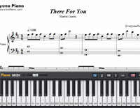 There for You-Martin Garrix-Free Piano Sheet Music