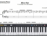 Blow Out-Konomi Suzuki-Free Piano Sheet Music