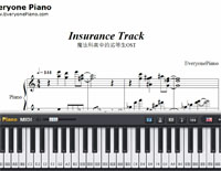 Insurance Track-Taku Iwasaki-Free Piano Sheet Music