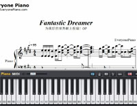 Fantastic Dreamer-Machiko Saito-Free Piano Sheet Music