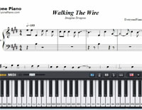 Walking the Wire-Imagine Dragons-Free Piano Sheet Music