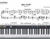 Quo Vadis- From Rhythm Master-Free Piano Sheet Music