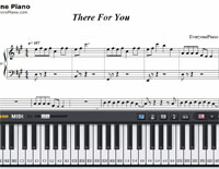 There for You-Martin Garrix and Troye Sivan-Free Piano Sheet Music