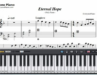 Eternal Hope-Clinton Ngan-Free Piano Sheet Music