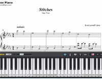 Stitches-Sam Tsui-Free Piano Sheet Music