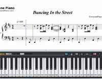 Dancing In the Street-Free Piano Sheet Music