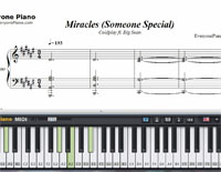 Miracles Someone Special-Coldplay ft. Big Sean-Free Piano Sheet Music