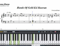 Hands Of Gold-Game of Thrones OST-Free Piano Sheet Music