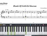 Hands Of Gold-ゲーム・オブ・スローン シーズン7 ED楽譜ピアノ学習