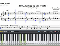 The Shaping of the World-Free Piano Sheet Music