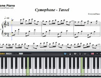Tassel-Cymophane-Free Piano Sheet Music
